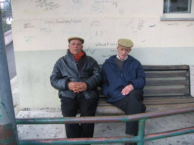 In Piazza Arento una giornata di Ottobre
