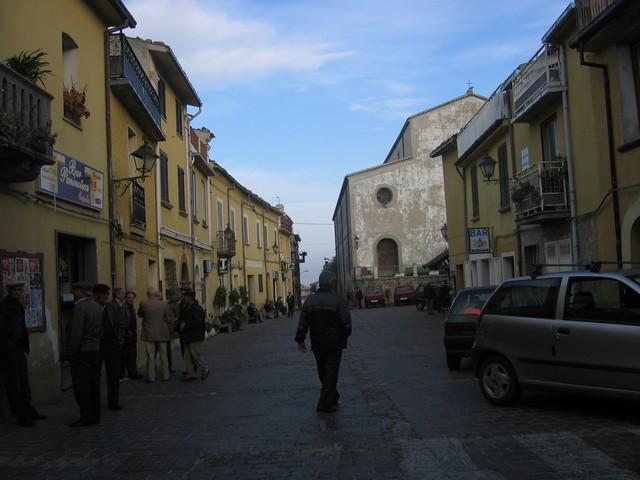 Bocchigliero Piazza del popolo Ottobre 2007