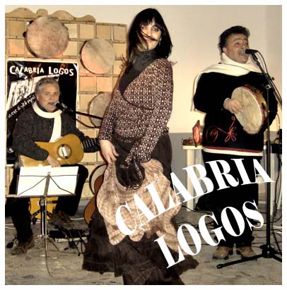 Bocchigliero 30 dicembre 2006 festa in piazza con i Calabria Logos