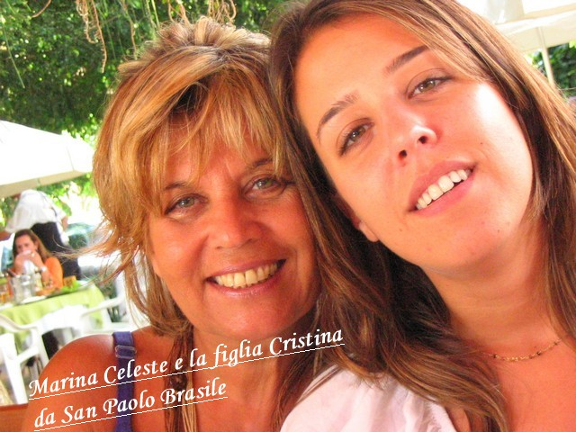 Marina Celeste e la figlia Cristina