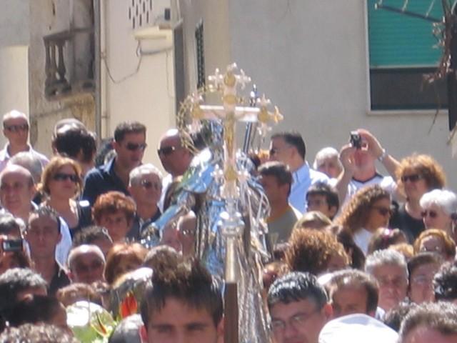 Inizio della processione di San Rocco