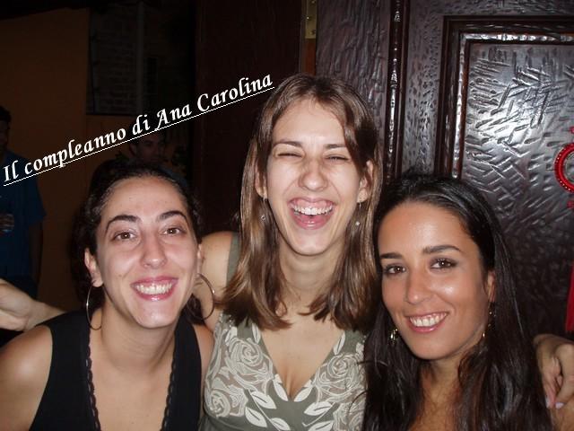 Il compleanno di Ana Carolina