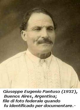 Famiglia Pantuso Argentina