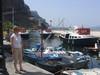 Nel vecchio porto di Thira