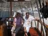 L'escursione in barca nelle isole vicine