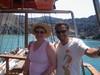 Stiamo per arrivare sull'isola vulcanica Nea Kameni