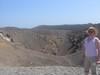 Uno dei 5 crateri di Nea Kameni
