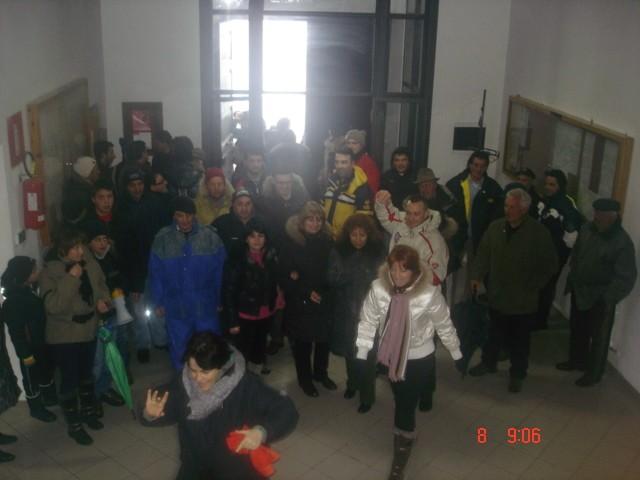 8 Marzo 2010 Bocchigliero in sciopero